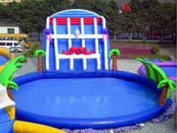 CE Certification Inflatable Water Park with Pool