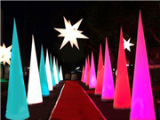 Inflatable Lighting Cone for Festival Party Decoration