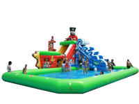 Giant Inflatable Water Park Floating Water Games