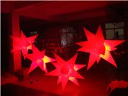 Led Light Inflatable Star for Club Event Decoration