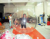 Commercial Inflatable Dance Ball Human Dance ball for sale