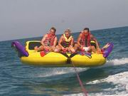 UV Resistance Towable Water Board Inflatable Flying Sofa for Summer Water Sports