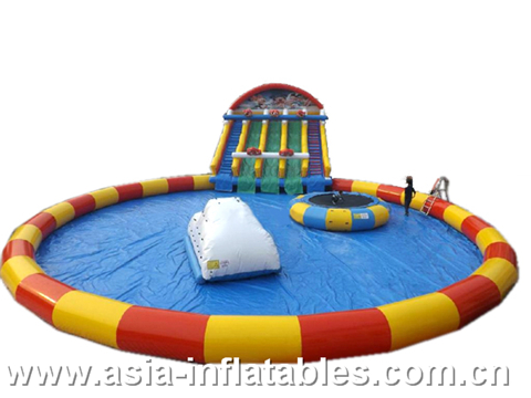 Inflatable Round Pool Water Park