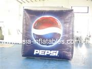 Full Color Digital Printing Helium Cube Balloon