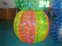 Multi-Colors Bubble Soccer Ball