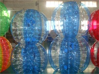 Half Color Bubble Soccer Balls for Sale