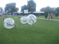 How to use Soccer Zorb Ball?