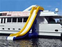 20 Foot Inflatable Yacht Slide