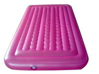 Top Quality Rose Pink Inflatable Air Mattress for Sale