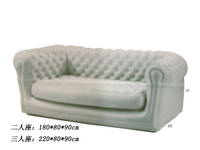 Inflatable White Living Room Sofa