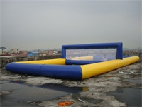 Commercial Grade Inflatable Volleyball Water Playground for wholesale