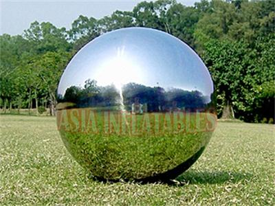 Full Color Silver Large Mirrorr Inflatable Advertising