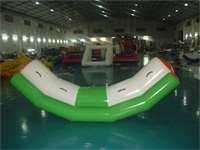 Signle Inflatable Water Teeter Totters for Kids ad Adults