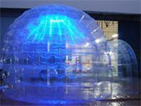 High Quality Double Layers Inflatable Bubble Tent for Sale