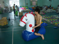 Air Tight Strong Style Team Games Pony Hops Inflatables for Party Rentals
