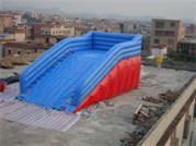 New Style Inflatable Zorb Ball Ramp Race Track for Carnival​