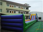 Inflatable Ramp for Human Harmester Zorb Ball Games