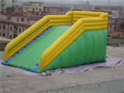 New Style Inflatable Zorb Ball Ramp Race Track for Rentals