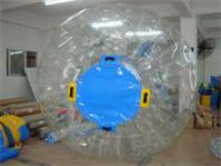 Tansparent Zorb Ball with Enterance Covers use on water