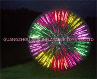Glowing Zorb Ball use on Night