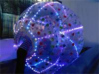 LED Lights Zorb Ball