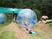 Zorbing at Roller Ball in Phuket