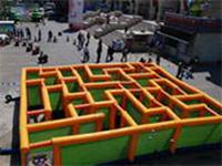 Inflatable Labyrinth Game