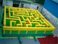 Large Inflatable Maze Interactive Inflatable Labyrinth Game