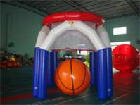 Air Tight Style Inflatable Monster Basket Ball Game