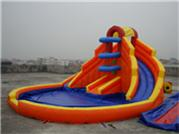 Commercial Mini Jungles Inflatable Water Slide Combos for Backyard