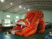 Inflatable Sabretooth Tiger Slide