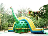 Giant Inflatable Dinosaur Slide And Bouncer Combo