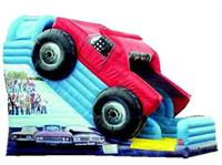 Giant Inflatable Monster Truck Slide