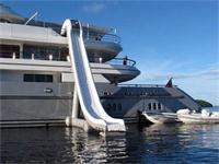 Super Yacht Slide Custom Inflatable Water Slide for Amusement Water Park
