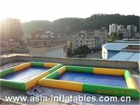 Colors Rectangular Inflatable Pool