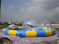 Colorful Inflatable Pool Round Pool for Water Ball Business Rentals