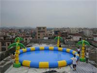 Multi Color Inflatable Circular Pool