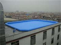 Large Inflatable Pool 20mLx15mW