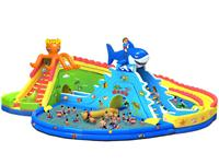 New Style Kids Fun Inflatable Octopus Slide Water Parks for Sale