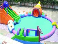 Giant Inflatable Octopus Slide Water Parks 16m Diameter