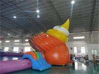 Giant inflatable Sea Snail Water Parks on sale EN14960