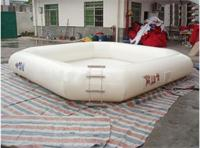 Full Color White Inflatable Pool