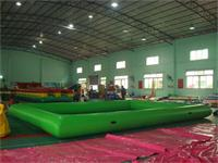 Full Color Green Inflatable Pool