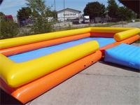 Double Layers Tubes Large Inflatable Pool 13mLx7mW