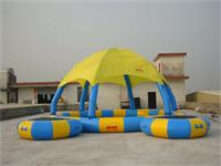 Strong Style Colorful Inflatable Pool with Tent