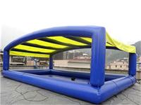 Large Inflatable Pool Tent for Water Ball Business Rentals