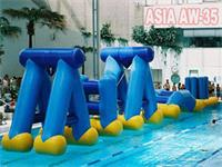 High Density Aqua Runs,Swing Splash Inflatable Obstacle Water Games