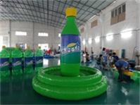 Air Sealed Welding Inflatable Sprite Bottles 12 Foot High