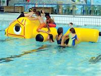 Aqua Runs Tonto Crocodile Obstacle Course Water Inflatables
