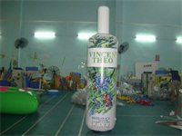 Air Sealed Welding 3m High Brazilian Acai Inflatable Bottle
